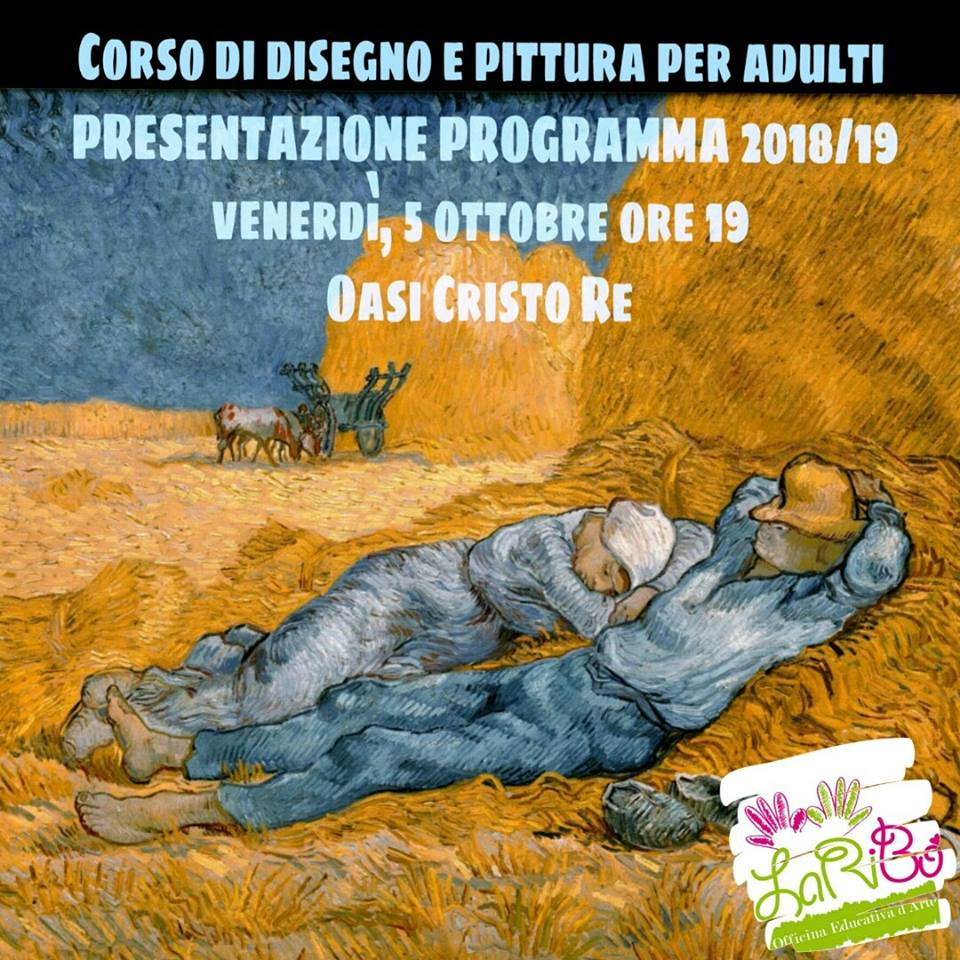 Presentazione Corso Disegno & Pittura 2018/2019 - adulti